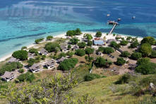 Kanawa island from Hill