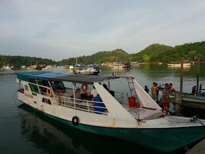 Boat Komodo for daily tour