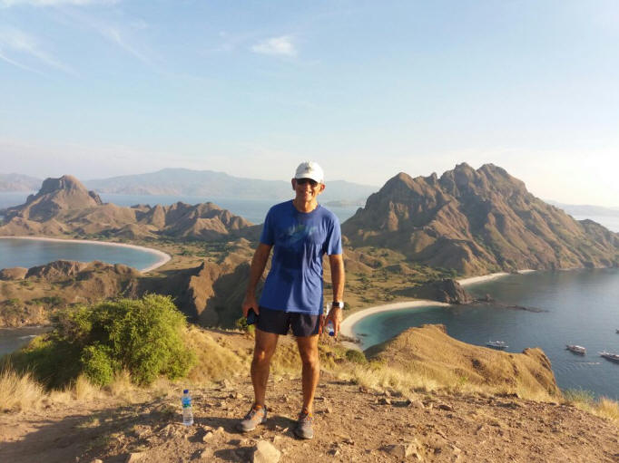 Amazing view from top of Padar hill