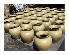 Banyumulek pottery village, Sasak tribe tour